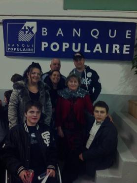 Notre action du 3 décembre 2011 pour  Audelin