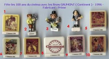 VENTE 10   -   LES FEVES GAUMONT 1996   -   MARQUEES 1995   -  0 ¤ 50   + Frais de port