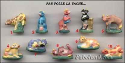 VENTE 84     -     PAS FOLLE LA VACHE     -     0 ¤ 50     +  Frais de port