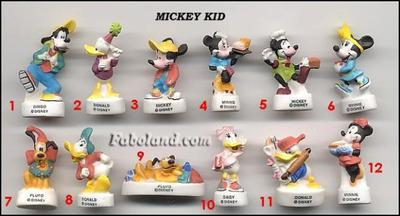 VENTE 89     -     MICKEY KID     -     BRILLANTES     -     0 ¤ 50     +   Frais de port