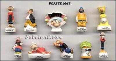 VENTE 91     -     POPEYE     -     MATE     -     0 ¤ 50     +   Frais de port