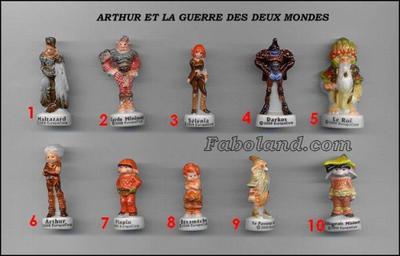 VENTE 111     -     ARTHUR ET LA GUERRE DES DEUX MONDES     -     0 ¤ 50     +   Frais de port