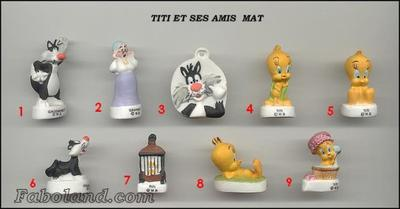 VENTE 127     -    TITI ET SES AMIS     -     MATE     -     0 ¤ 50     +   Frais de port