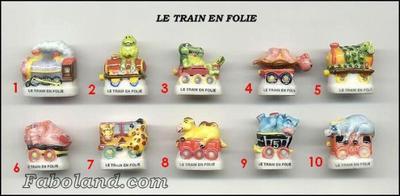 VENTE 129     -     LE TRAIN EN FOLIE     -     0 ¤ 50     +   Frais de port