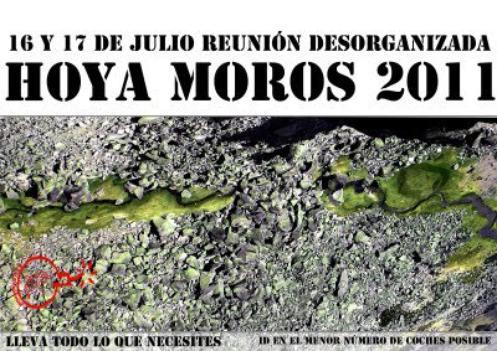 ASOCIACIÓN CHARRA DE MONTAÑA Y ESCALADA: 16 y 17 de julio - HOYA MOROS 2011
