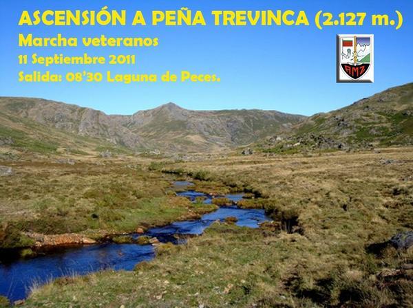 MARCHA VETERANOS: ASCENSIÓN A PEÑA TREVINCA - 11 DE SEPTIEMBRE