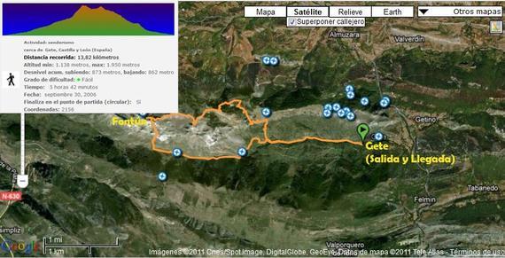 DESAFIO VEGACERVERA/2011: 16-17 y 18  de Septiembre  - AMZ