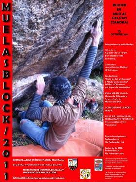 IVª edición: MUELASBLOCK/2011: 15  de octubre de 2011 - Bulder y senderismo en Muelas del Pan .