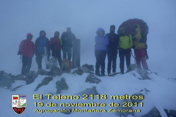 AMZ - ASCENSIÓN AL TELENO, 19 de noviembre de 2011: FOTOS