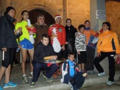 CARRERA DE LA ROSCA - SAN ANTÓN 2012 - Triunfo de Maria Diez Manzano Y Jaime Esteban Ruiz en sus respectivas categorias.