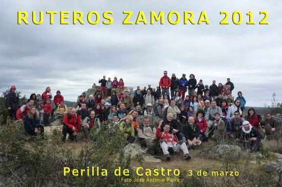 RUTEROS: FOTOS DE PERILLA DE CASTRO. SENDERISMO 03-03.2012