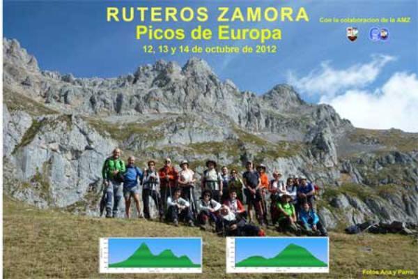 PICOS DE EUROPA: RUTEROS ZAMORA Y MONTAÑERA ZAMORANA.