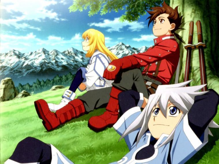 Tales of Symphonia : Présentation du Jeu-Vidéo/Anime/Manga *^* !