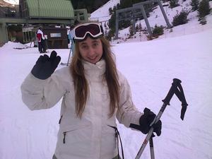mes vacances au ski !!!!
