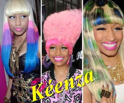 ces cheveux sa marque de fabrique!