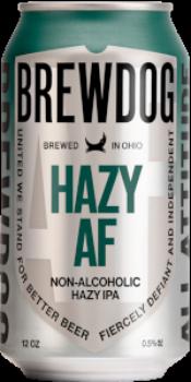 Review: BrewDog Hazy AF