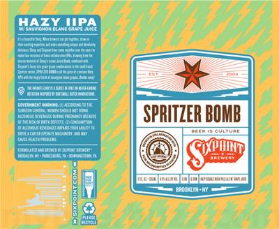 Review: Sixpoint Spritzer Bomb