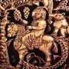 Pyxide au nom d'al-Mughira, Madhinat al-Zahra, Louvre, ivoire, 968