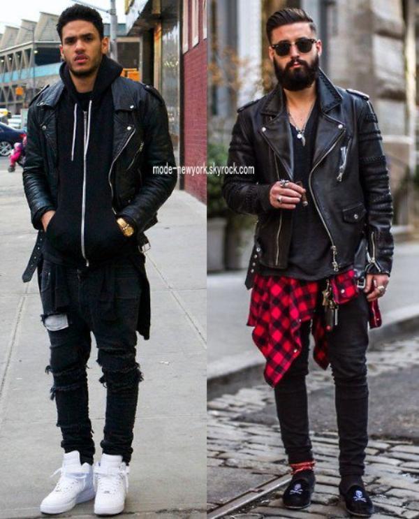 chez les hommes quel est le style tendance en ce moment mode newyork. Black Bedroom Furniture Sets. Home Design Ideas