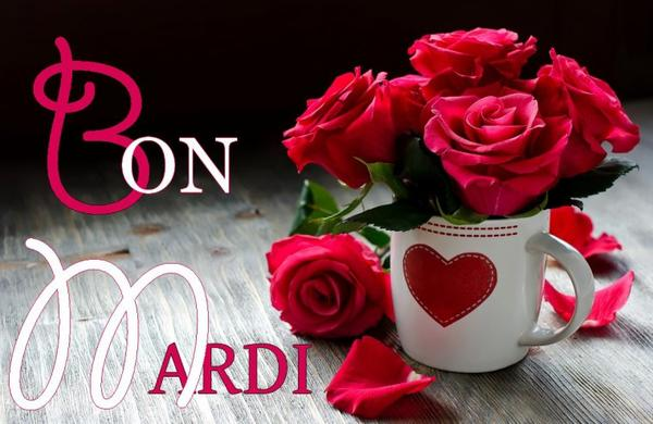 Bonjour Déjà Mardi Je Souhaite à Tous Mes Amis E S Une