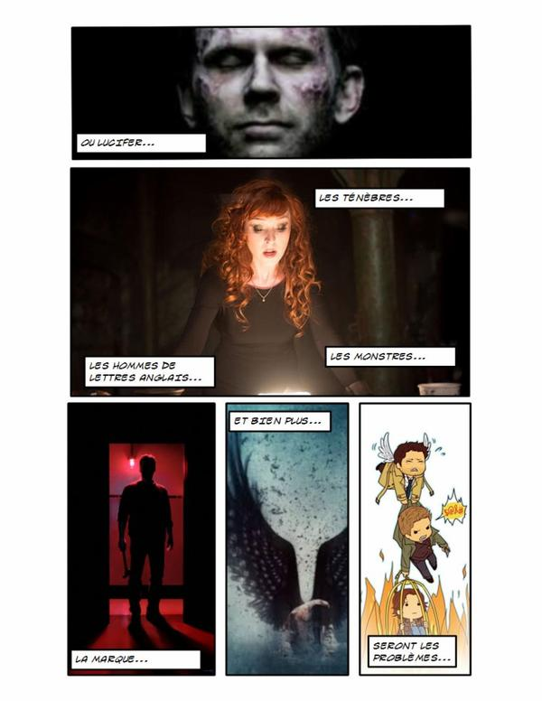 bande-annonce en comic de ma fiction:Chasseuse dans l âme.