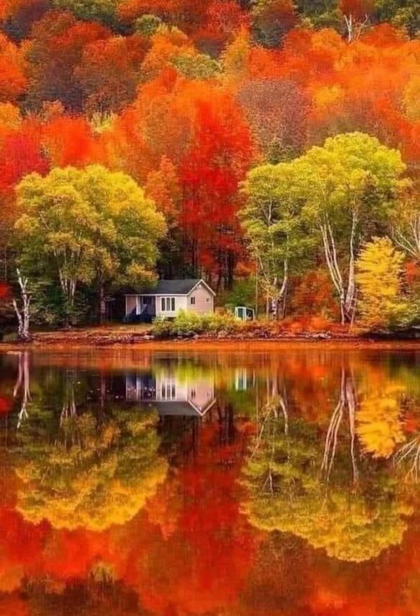 L'automne, c'est merveilleux photo de chez nous au Québec
