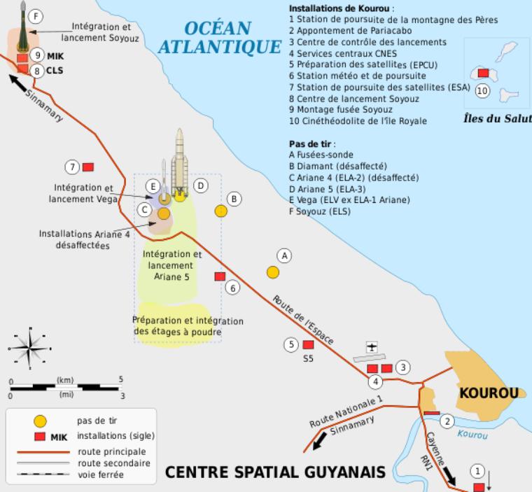 Centre spatial Guyanais (Kourou)