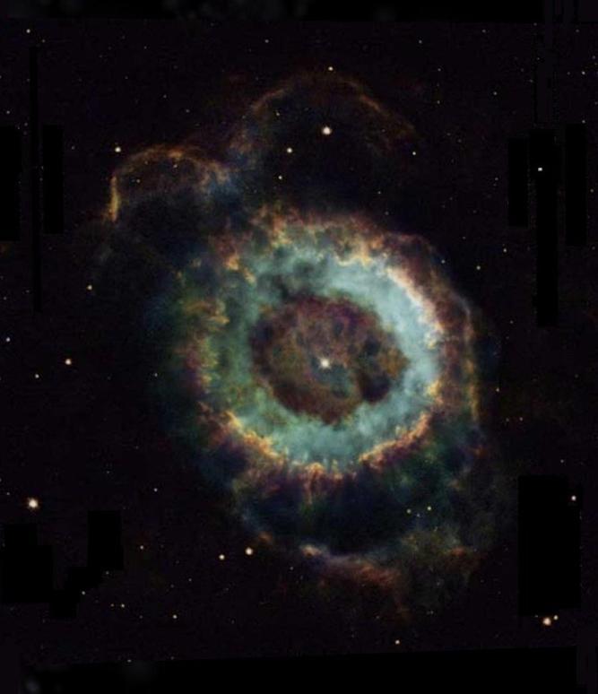 Nébuleuse du Petit Fantôme = NGC 6369 = Little Ghost Nebula