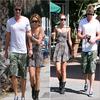 _ 01.07.10 - Miley avec Liam dans Studio City,et ensuite au Starbucks. _