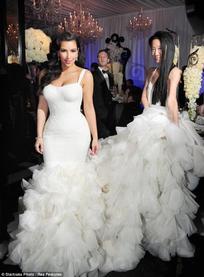 Eva Au Mariage De Kim Kardashian Blog De Biographielongoria