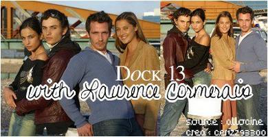 """Série: """" Dock 13 """" avec Laurence Cormerais dans le rôle de Marianne."""