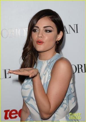 Lucy Hale Teen Vogue's Young Hollywood Party!