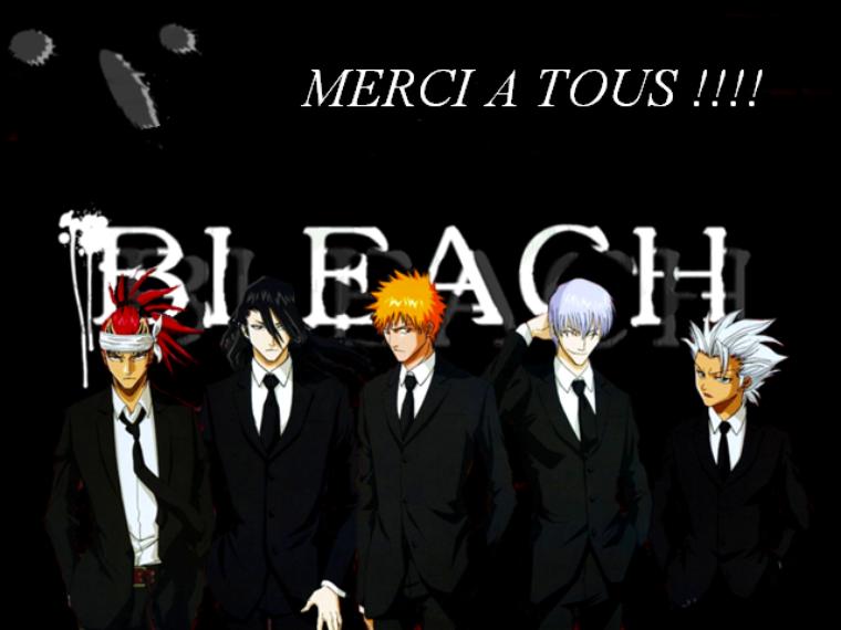 Sommaire : Welcome in Bleach fan's !