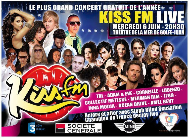 Concert Kiss FM - 6 juin 2012