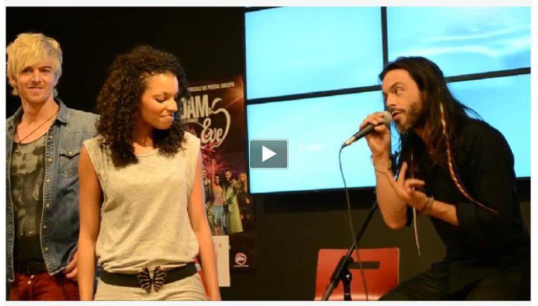 Adam & Eve en promo en province -  showcase dédicace - Limoges, Nantes, Golfe Juan, Marseille ...