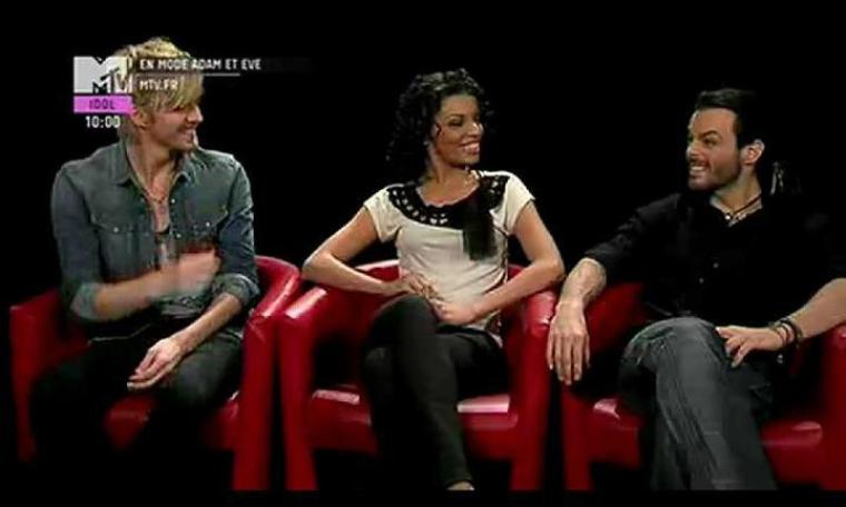Vidéo, Photo - Adam & Eve sur MTV Idol - une programmation édennienne