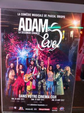 EVENEMENT : Adam & Eve au Cinéma les 24-25 et 26 aout prochain