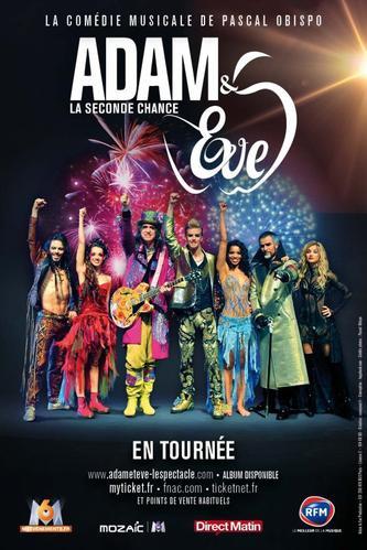 """ECOUTEZ """"AIMEZ-VOUS"""" Nouveau single d'Adam & Eve la seconde chance - Cylia & Nuno Resende"""