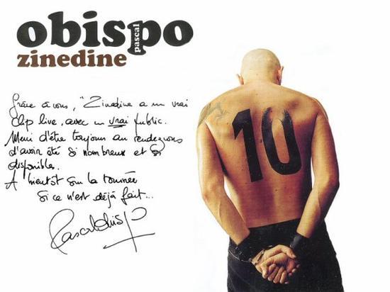 "Equipe de France : ""Le monde a besoin d'idoles"" Zinedine - Pascal Obispo (2003)"