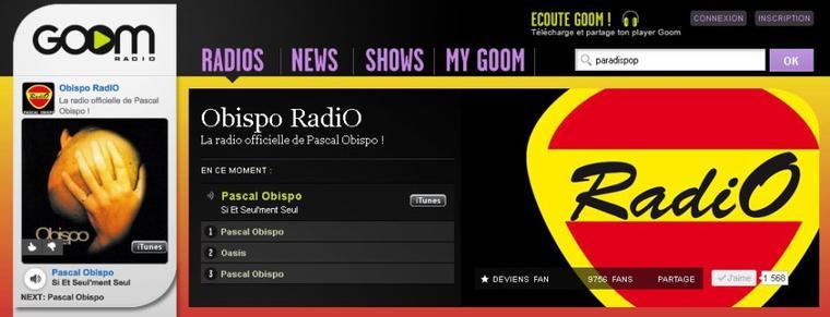 RadiO - la Radio Officielle de Pascal Obispo
