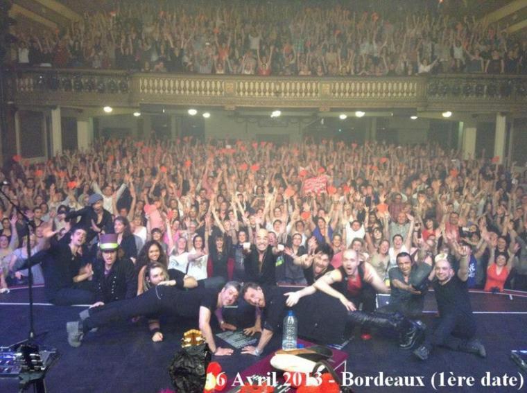 Vidéo, Interview, photos @ObispoPascal à Bordeaux #MillésimeStour