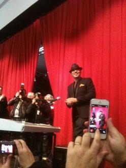 photos vidéo article presse @ObispoPascal inaugure la salle #PascalObispo à #LalandeDeFronsac