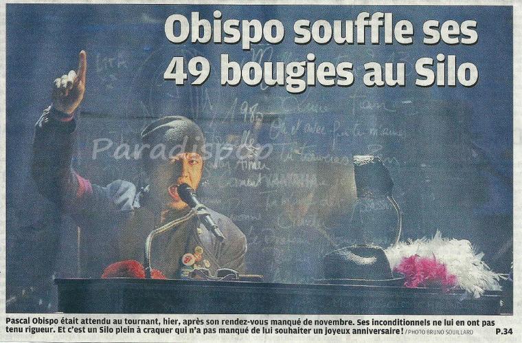 Revue de Presse #MillésimeSTour #Marseille #Gap @ObispoPascal