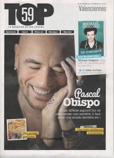 """Interview @ObispoPascal se livre pour le #TOP """"j'aime l'idée d'être un artiste magicien..."""""""