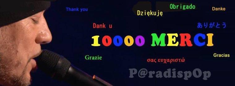 @Paradispop c'est plus de 10 000 fans sur #Facebook 100% officiel @ObispoPascal