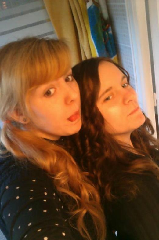 Ma soeur Laetitia et Moi