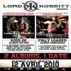 Mes 2 albums sortent lundi 12 avril !