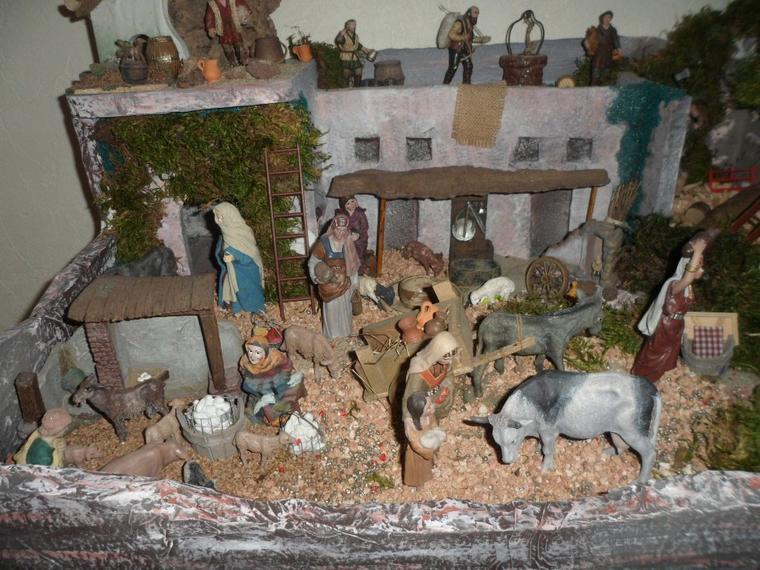Crèche de Noël orientale