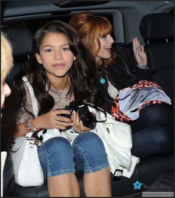 Zendaya & Bella A Londres ! 1ere