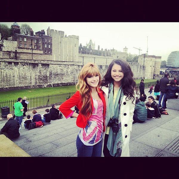Zendaya & Bella A Londres ! 2eme